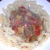 Gulasch mit Nudeln