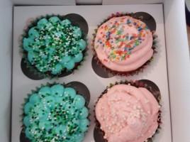 Die fertigen Cupcakes