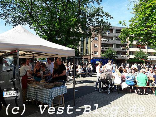 Naschmarkt in Marl