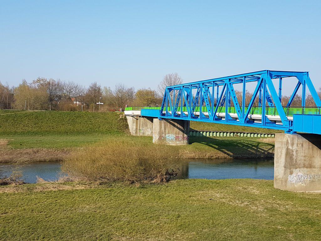 Lippe Dorsten Brücke Radweg VestBlog MarlBlog